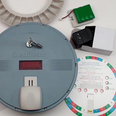 MedReady 1700 Medication Dispenser, with Flashing Light (Open Box)