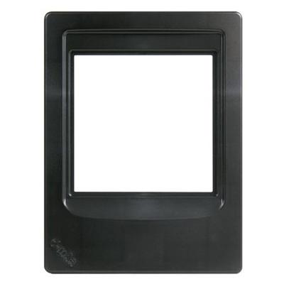 M&S Systems DMC Intercom Room Station Retrofit Mounting Frame, Black