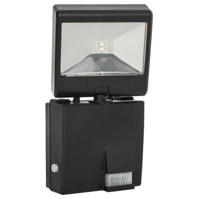 Maxsa Adjustable Solar-Powered LED Security Spotlight