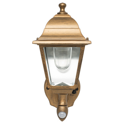 Maxsa Battery-Powered Motion-Activated LED Outdoor Wall Sconce