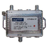 Cabletronix 1 GHz Multi-Media Drop Amplifier with Passive Return