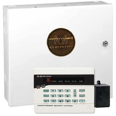 Napco Gemini P816 Security System Kit with GEM-RP3DGTL Keypad