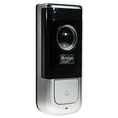 Napco iBridge Wifi Doorbell, Pro Grade, Metallic Silver