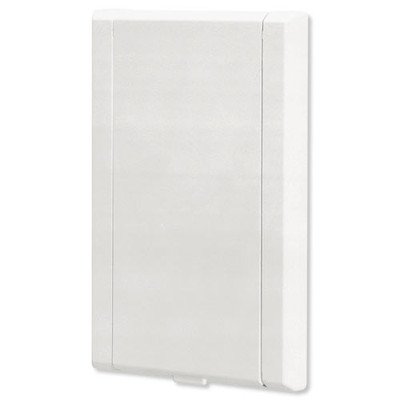 NuTone Central Vacuum 330 Series Automatic On/Off Wall Inlet, White