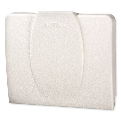 NuTone Central Vacuum 360 Series Automatic On/Off Wall/Floor Inlet, White