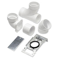 NuTone Central Vacuum 360 & CI370 Inlet Rough-In Kit, 3-Inlets