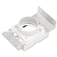 NuTone Central Vacuum Mounting Bracket with Plaster Guard