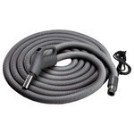 NuTone Central Vacuum Current-Carrying Crushproof Hose, 30 Ft.