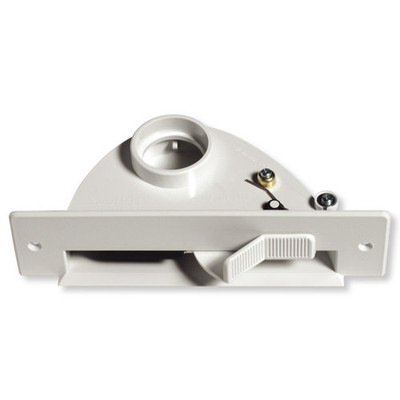 NuTone Central Vacuum VacPan Automatic Dustpan Inlet, White
