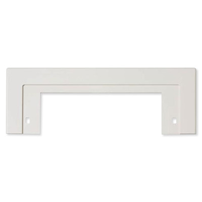 NuTone Central Vacuum Trim Plate for CanSweep Automatic Inlet, White