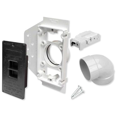 NuTone Central Vacuum Electra-Valve II Wall Inlet Rough-In Kit