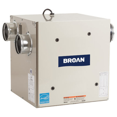 Broan Heat Recovery Ventilator with Side Ports