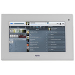 "Nuvo P30 7"" Android PoE Touch Screen, White"