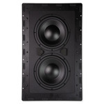 Nuvo Dual 8 In. In-Wall Passive Subwoofer