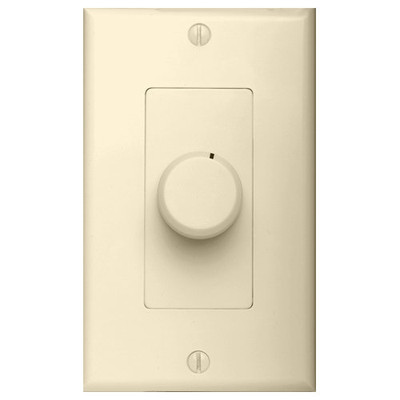 OEM Systems Pro-Wire Rotary Volume Control, 100W, Almond