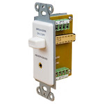 OEM Systems Pro-Wire Speaker Switch with Headphone Jack, White