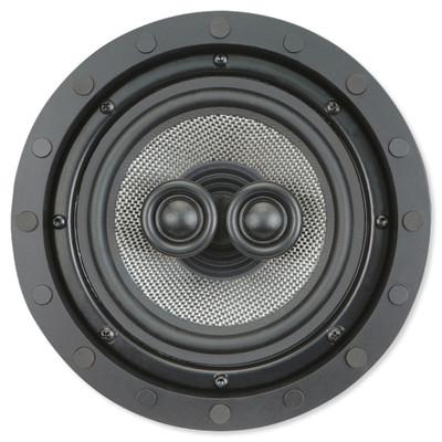 Presence Elite 6.5 In. Single-Point Stereo In-Ceiling/Wall Frameless Speaker, 2-Way (Single)