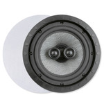 Presence Elite 8 In. Single-Point Stereo In-Ceiling/Wall Frameless Speaker, 2-Way (Single)