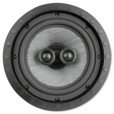 Presence Elite 8 In. Single-Point Stereo In-Ceiling/Wall Frameless Speaker, 2-Way (Single)