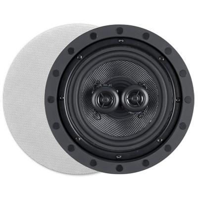 OEM Systems ArchiTech Kevlar 6.5 In. Single-Point Stereo In-Wall/Ceiling Frameless Speaker, 2-Way