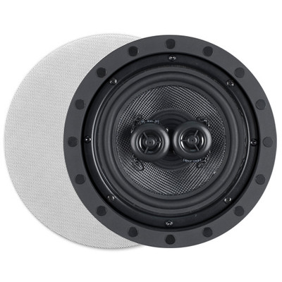 OEM Systems ArchiTech Kevlar 6.5 In. Single-Point Stereo In-Wall/Ceiling Frameless Speaker, 2-Way