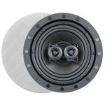 ArchiTech Premium 6.5 In. Frameless Single-Point Stereo In-Ceiling Speaker, 2-Way