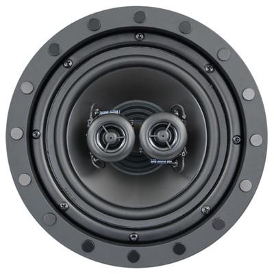 ArchiTech Premium 6.5 In. Frameless Single-Point Stereo In-Ceiling Speaker, 2-Way