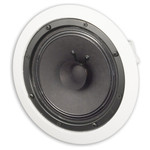 OEM Systems 8 In. In-Ceiling Speaker, Full Range Dual Cone, Open Back