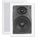 OEM Systems ArchiTech Premium 5.25 In. In-Wall Speakers, 2-Way