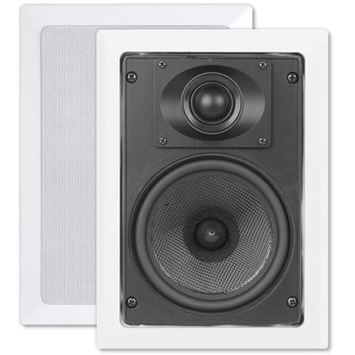 OEM Systems ArchiTech Kevlar 5.25 In. In-Wall Speakers, 2-Way
