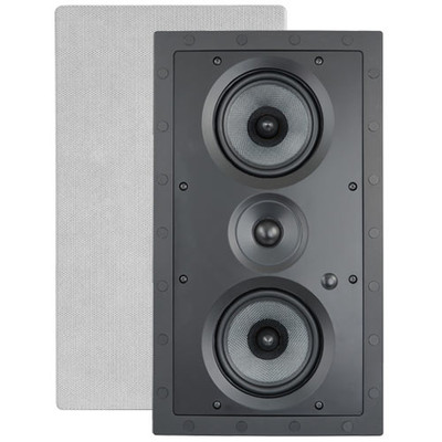 ArchiTech Kevlar Dual 5.25 In. LCRS Frameless Speaker, 2-Way