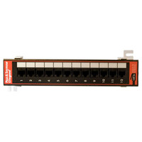 On-Q/Legrand 12-Port Cat5e Wall-Mount Patch Panel with 89D Bracket