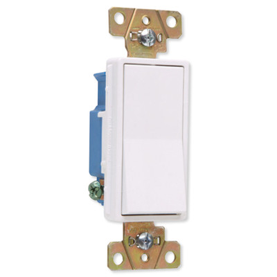 On-Q/Legrand 3-Way Decorator Wall Switch, Construction Grade