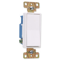 On-Q/Legrand 3-Way Decorator Wall Switch, Construction Grade