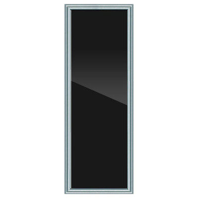 On-Q Custom Door, Brushed Aluminum Frame, Smoked