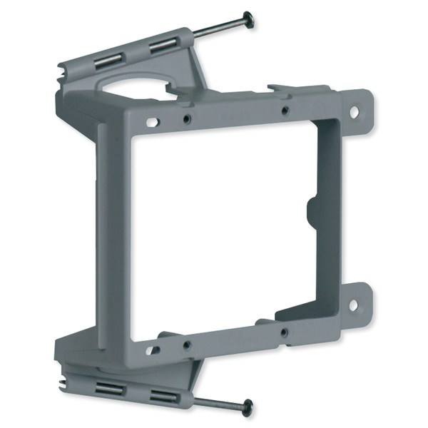On-Q/Legrand Low-Voltage Mounting Bracket, Nail-On, New Construction, 2-Gang