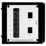 On-Q/Legrand 6-Port Cat6 Network Interface Module