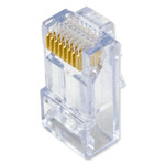 On-Q/Legrand High Performance Cat6 RJ45 Modular Plug, 10 Pack