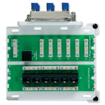 On-Q/Legrand Trio Combo Module, 6x8 with Cat5e Data