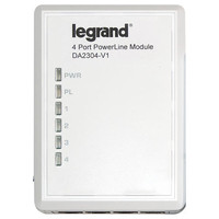 On-Q/Legrand 4-Port Network Powerline Adapter