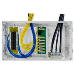 On-Q/Legrand 8 In. MDU Enclosure Kit with Cat6 Data Kit
