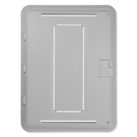 On-Q/Legrand Hinged Door and Trim for Plastic Enclosure, 20 In. (Open Box)