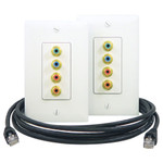 On-Q/Legrand Component Video/Digital Audio In-Wall Kit