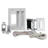 On-Q/Legrand Flat Screen TV Pro Power and Cable Management Kit with HDMI