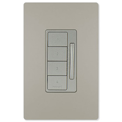 On-Q/Legrand Radiant Whole House Scene Wall Controller, Nickel