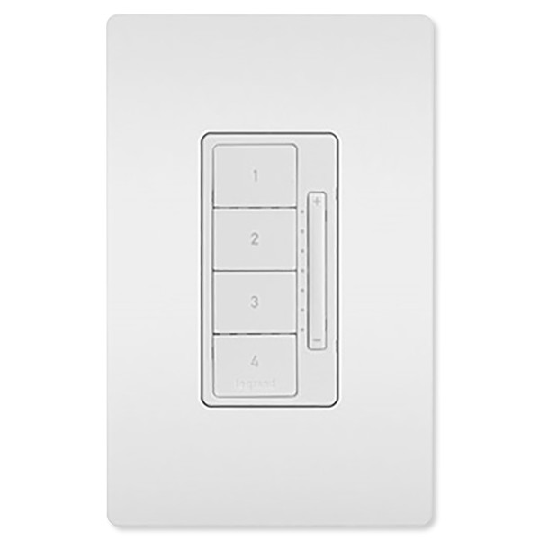 On-Q/Legrand Radiant Whole House Scene Wall Controller, White