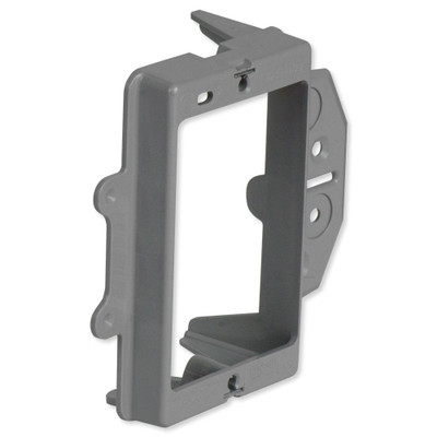 On-Q/Legrand Low-Voltage Face Mount Bracket for New Construction, 1-Gang