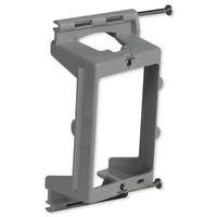On-Q/Legrand 1-Gang Low Voltage Nail On Bracket with Quick/Click