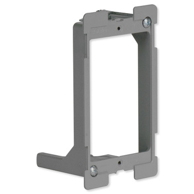 On-Q/Legrand Low-Voltage Swing Bracket with Quick/Click, 1-Gang