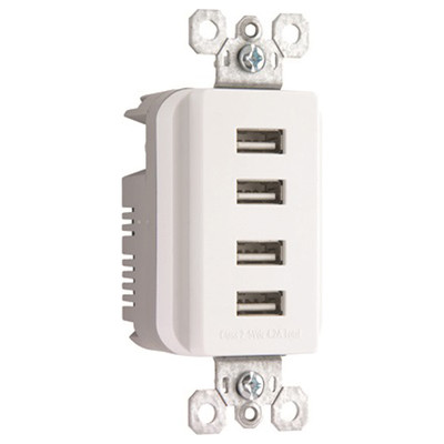 TradeMaster 4-Port USB Charger